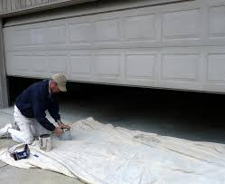 DIY Home Staging Tips DIY Project Overhead Garage Door Re Paint