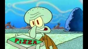 Pizza Delivery Spongebob Crying