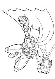 Click To See Printable Version Of Batman Coloring Page