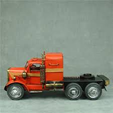 Handmade Metal Truck Tractor Model Vintage Iron Art Optimus Prime ...