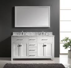 60 inch double sink vanity bathroom cabinet the homy design