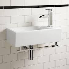 making concrete small bathroom sinks home design ideas