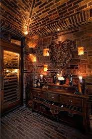 bathroom charming candle decorating ideas with brick wall and