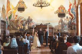 santa barbara courthouse mural room wedding archives anna