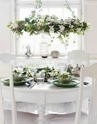 Dining Room Decoration Ideas Decorating Decor Family Easter Formal Valentine Home Table Centerpieces White