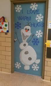 Pictures Of Halloween Door Decorating Contest Ideas by Winter Door Decoration I Love Olaf Classroom Doors