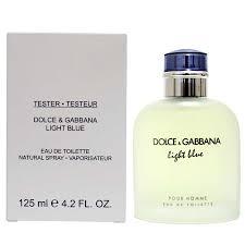 Light Blue by Dolce & Gabbana for Men 4 2 oz Eau De Toilette