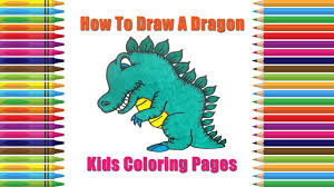 How To Draw Dragon Coloring Pages