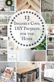 13 Insanely Cool DIY Projects for the Home