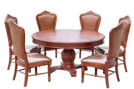 Villa 7Piece Round Dining Room