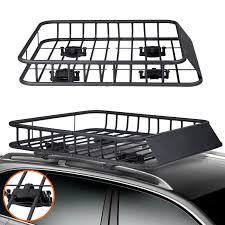Voilamart Cargo Car Roof Rack Luggage Carrier Basket 4X4 4WD Top ... Roof Racks For Amarok Vehicles Alloy Motor Accsories Discount Ramps 4door Vehicle Basket Carrier With Rain Gutter Expert Picks 7 Excellent Hauling Gear Patrol Gamiviti Apex Deluxe Steel Cargo Wind Fairing 4714l X Amazoncom Body Armor 4x4 5129 Black Large Sport Rack Toyota World Dodge Ram 1500 Rhino 2500 Vortex Cross Bars Storage Solutions This Years Vacation Season Topperking Holden Rodeocolorado Roof Racks Off Road 120 Prado 19 12m