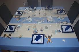 table thème la mer deco de table de christine