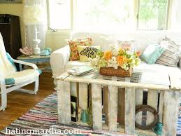 Pallet Coffee Table Painted Furniture
