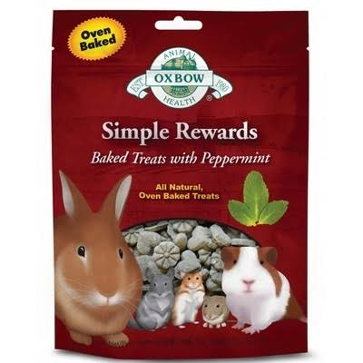 Oxbow Simple Rewards Oven Baked Treats - Peppermint, 57g