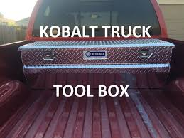 Kobalt Truck Tool Box - YouTube