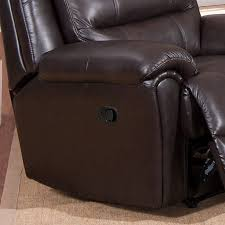 Brookville Leather Sofa Recliner Free Shipping Today Overstock