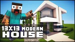 Minecraft Kitchen Ideas Keralis by Minecraft House Tutorial 13x13 Modern House Minecraft