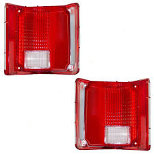 Amazon.com: Driver And Passenger Taillights Lens With Chrome Trim ... 2x Led Rear Tail Lights Truck Trailer Camper Caravan Bus Lorry Van 0708 Dodge Ram Pickup Euro Red Clear 111 Round And W Builtin Reflector 4 Inch Led Whosale 2018 8 Car Light Warning Rear Lamps Waterproof Amazonca Trucklite 44022r Super 44 Stopturntail Kit 42 2 Pcs With License Plate Lamp Durable Lights Ucktrailer Circular Stoptail Lamp 1030v 1 Pair 12v Turn Signal 20fordf150taillight The Fast Lane