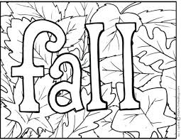 Free Fall Coloring Pages Printable Autumn Tree Disney Leaves