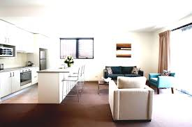 Four Bedroom Apartment House Plans Design Living Room L Pretty Open Small Layout And Kitchen Designs With White Blue Colors Sofasbine Cabinets Floor