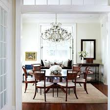 Dining Room Carpet Design Common Rug Size Protector