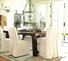 Dining Room Chair Slipcovers Pottery Barn House Decorative