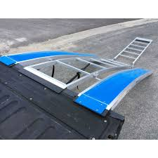 Sled Deck Ramp Width by Bosski Revarc Tri Fold Arched Snowmobile Ramp Discount Ramps