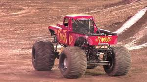 Monster Jam - El Diablo Monster Truck Freestyle From Anaheim, CA ...