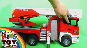Bruder Scania Fire Engine With Water Pump And Light And Sound ... Monster Truck Toy And Others In This Videos For Toddlers 21 Fire Engines Responding Best Of 2014 Youtube Vs Crazy Dinosaur Future Rescue Power Wheels Race Policeman Sidewalk Cop Vs Fireman Tow Children Tows A Car After Big Song Little Red Cartoon Videos For Kids Animal Video Youtube Shark Stunts S Lego City 60061 Airport Fire Truck Review Ultimate On Compilation 1 Hour Trucks The Hour Compilation Incl Ambulance