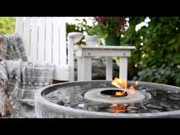 Aquascape Patio Pond Canada by Fire Fountain Fire Feature Self Contained Water Features Aquascape