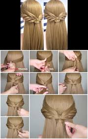 How To Make An Angel Wings Half Updo Hair