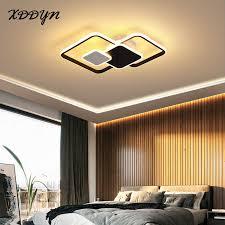 moderne led deckenleuchte schwarz und gold schwarz weiß le für wohnzimmer esszimmer schlafzimmer decke le innen beleuchtung
