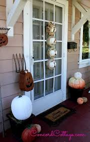 Fall Front Porches Rustic Outdoor Decorations Diy Halloween Home Decor