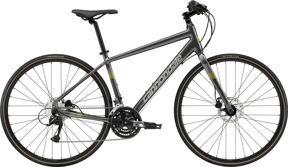 Cannondale Quick 5 Disc 2019 Hybrid Bike - Grey