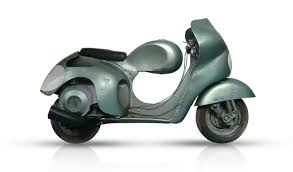 Vintage Vespa Racing Models
