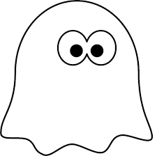 Ghost Coloring Pages Printable Free For Kids