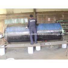 anti wear ceramic tile epoxy adhesive magnetic separator abrasion