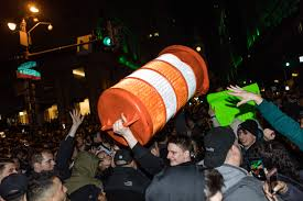 100 Ned Calls Truck Nuts Philly Super Bowl Celebrations Take Over Broad Street After Eagles