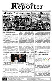 The Riderwood Reporter Newspaper February 2018 Television