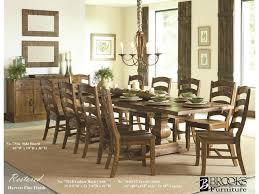 Brooks Furniture Dining Room Trestle Table Shumake