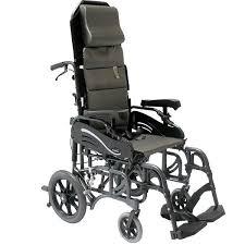 Transport Chair Or Wheelchair by Karman Tilt In Space Folding Transport Chair Transport Wheelchairs