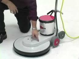 high speed floor burnisher 1500 rpm youtube
