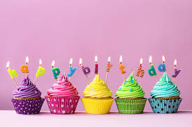 Download Happy birthday cupcakes stock image Image of frosted