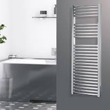 design chrom elektrischer handtuchwärmer hergestellt in italien logic