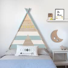 Cabecero juvenil tipi Otthon Kids room design Bedroom y Room