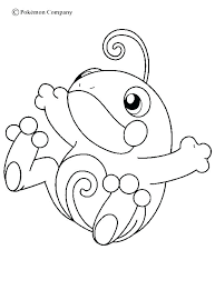 Eevee Coloring Pages Legendary Color Page More Water
