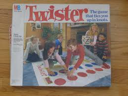 TWISTER Game Complete In Box 1986 Version
