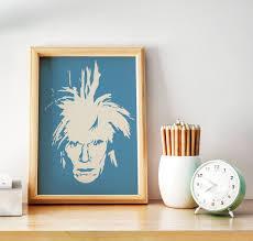 100 Pop Art Home Decor Andy Warhol Pop Art Print Poster Warhol Print Warhol Poster