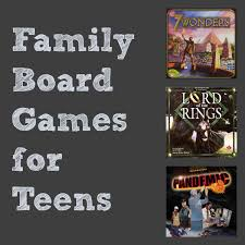 Family Board Games For Teens