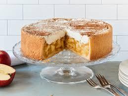 apfel wein torte rezept mit vanillepudding